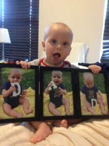What his gift looked like in the triple frame