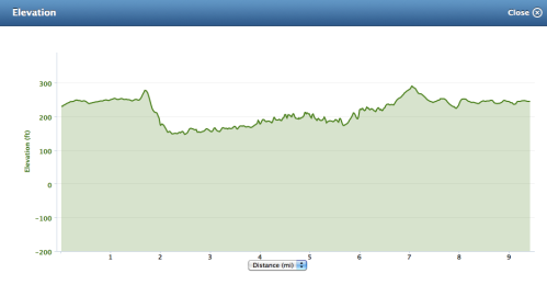 The hills felt so much worse than they look in this elevation chart!