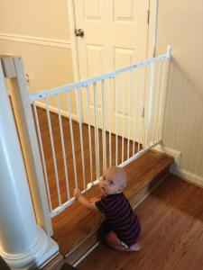 Not a fan of the baby gate