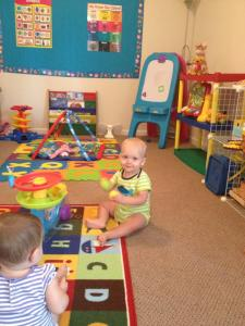 It's easier to go to work when your child LOVES daycare!