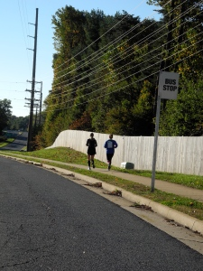20 miles with Amanda on Sunday!