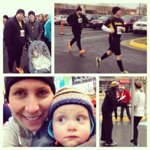 The Blue & Gray 5K earlier this month