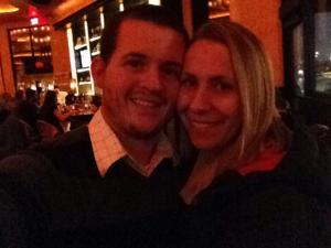 Date night with my hubby