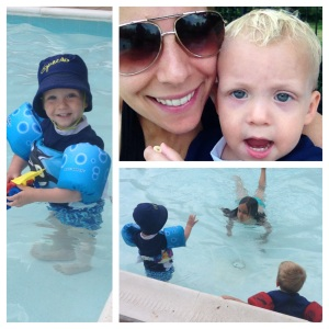 Summer fun with my boy :)