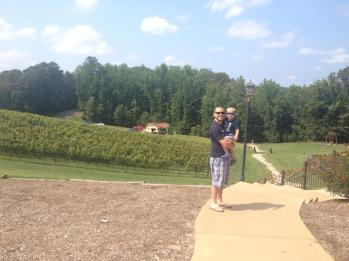 A beautiful day at Potomac Point Winery
