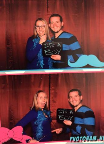 My brother-in-law's photo booth!