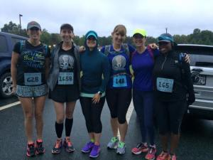 Some of the registered WWBH runners
