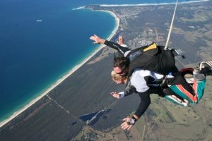 Kicked off my 20s by skydiving in Australia... setting the bar high for the rest of the decade!